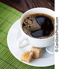 Beautiful Hot Coffee