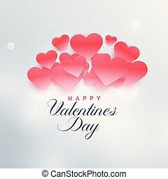 beautiful illustration of love valentine's day