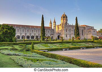 Hieronymites Monastery - Beautiful image of the Hieronymites...