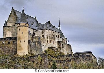 Beautiful Image of Vianden Castle.