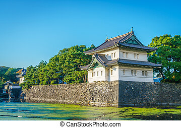 Beautiful  Imperial Palace in Tokyo, japan
