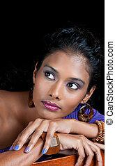 beautiful indian woman