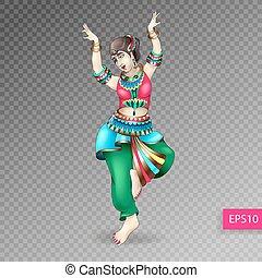beautiful indian women dancing coloring