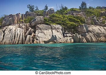 Beautiful Island of the Seychelles