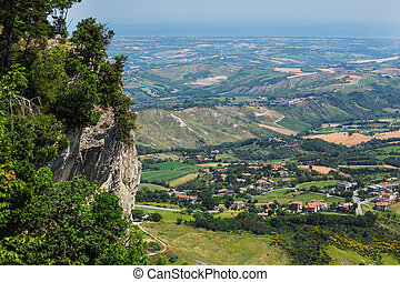 Beautiful Italian landscape