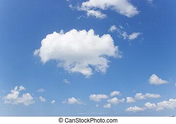 beautiful Jeju Island in South Korea, Meadow, Clouds in the sky
