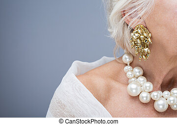 Beautiful jewelry is perfect decoration for woman