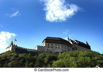 Karlstejn Castle - Beautiful Karlstejn Castle in the Czech...