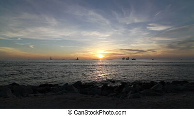 Beautiful Key West Florida Sunset