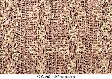 Beautiful knitted pattern