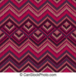 Beautiful Knitted Textile Texture