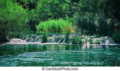 Beautiful Krka river - Beautiful nature of the Krka River...