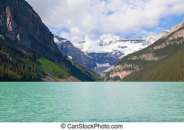 Beautiful Lake Louise In Alberta