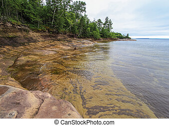 Beautiful Lake Superior Lagoon