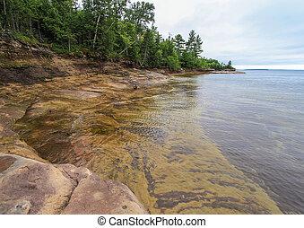 Beautiful Lake Superior Lagoon