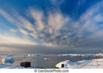 Beautiful landscape in Antarctica