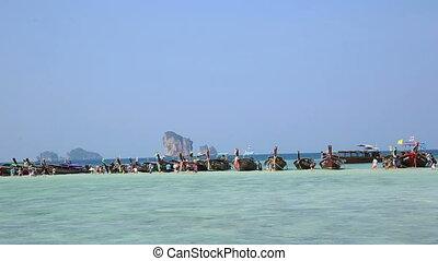 beautiful landscape in krabi - beautiful landscape in...