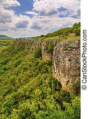 Beautiful landscape in mountain range