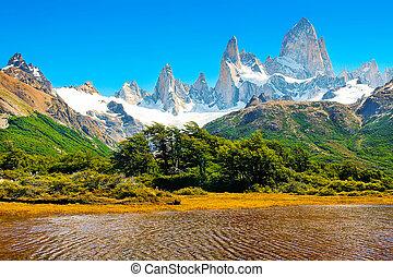Beautiful landscape in Patagonia