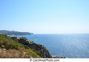 beautiful landscape in Spain