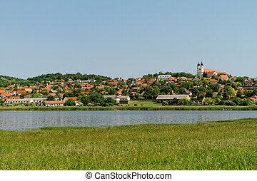 Beautiful landscape in te beautiful city Tihany - Hungary