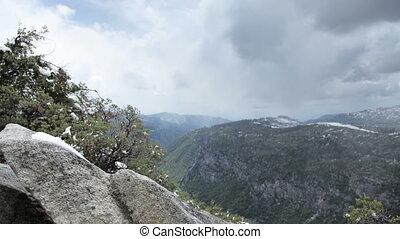 beautiful landscape in yosemite national park, california, usa, shot at super high quality, 4k resolution  (4096x2304).