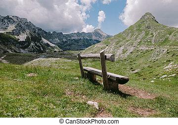 Beautiful landscape mountain scenery