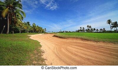 Beautiful landscape near Nusa Dua beach, Bali.