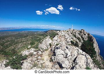 Beautiful landscape of Croatia