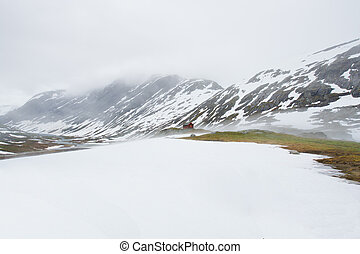 Beautiful landscape of Norway.