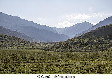 Beautiful landscape of sichuan, China
