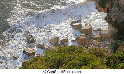 Beautiful landscape scene - Beautiful rocky landscape with...