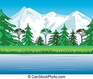 beautiful landscape.eps