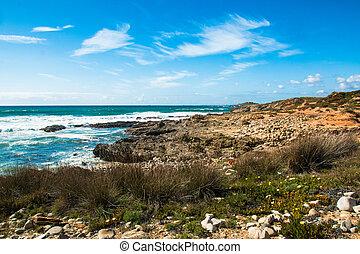 Beautiful landscapes of Fishermen's Trail, Trails Alentejo, ...