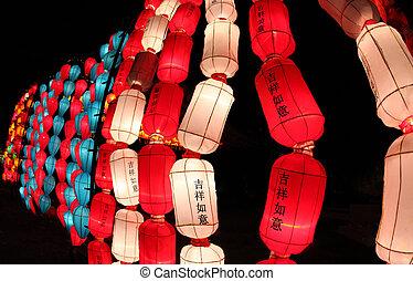 Beautiful lantern, Chiang Mai, Thailand