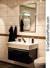 Beautiful Large Bathroom in Luxury New Home