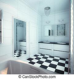 Beautiful Large Bathroom in Luxury