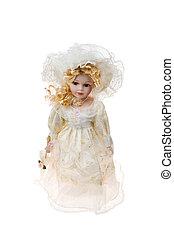 Beautiful large plastic doll
