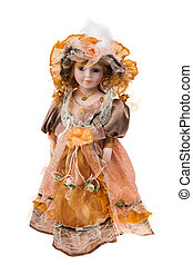 Beautiful large plastic doll