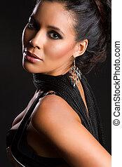 Beautiful Latin American Woman