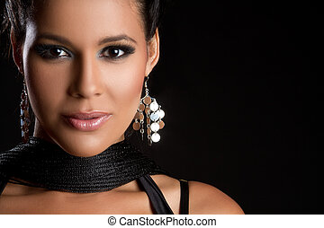 Beautiful Latin Woman - Beautiful glamorous latin woman...