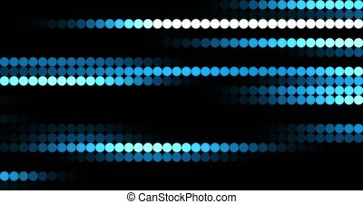 Beautiful LED Color Background.