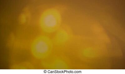 Beautiful lens flares seamless loop