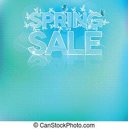 Beautiful light blue sale brochure