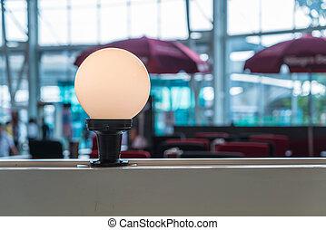 Beautiful light lamp