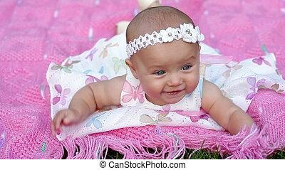 beautiful little baby girl