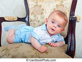 Beautiful little boy
