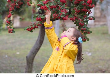 Little Girl In Nature