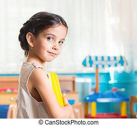 Beautiful little girl portrait