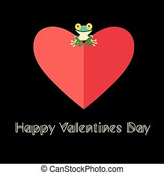 beautiful love frog